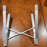 Mini Foldable Aluminium Laptop / Macbook / Tablet Stand photo review